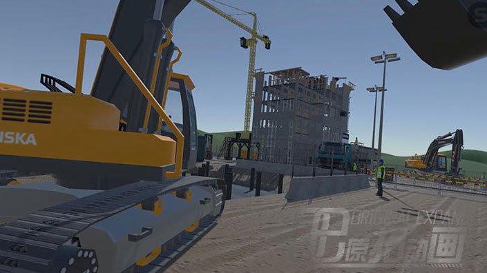建筑领域的VR培训示例